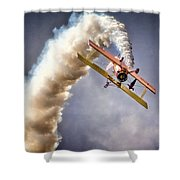 Wingwalker Shower Curtain