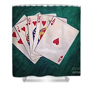 Wining Hand 2 Shower Curtain