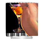 Winning Notes Shower Curtain