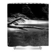 Winooski River Shower Curtain