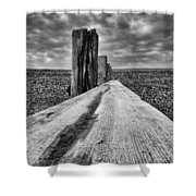 Winshelsea Beach Sussex Shower Curtain