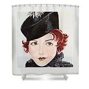 Winsome And Mischievous  Shower Curtain