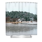 Winter 2 Shower Curtain