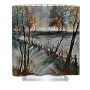 Winter 450101 Shower Curtain