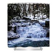 Mill Creek Falls Wv Shower Curtain