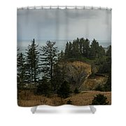 Winter At Oswald West Shower Curtain
