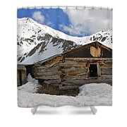 Winter At The Boston Mine 2 Shower Curtain