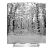 Winter Blast Shower Curtain