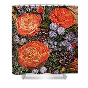 Winter Bouquet    Shower Curtain