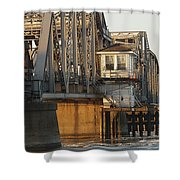 Winter Bridgehouse Shower Curtain