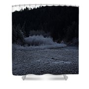 Winter Creek Shower Curtain