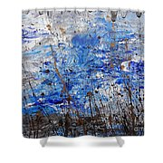 Winter Crisp Shower Curtain