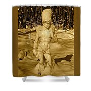 Winter David Shower Curtain