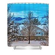 Winter Delight Shower Curtain