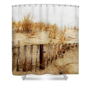Winter Dune - Jersey Shore Shower Curtain
