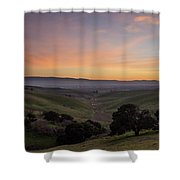 Winter Haze Shower Curtain