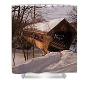 Winter Henniker Shower Curtain