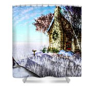 Winter Home Shower Curtain