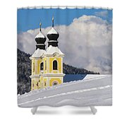 Winter Illusion Shower Curtain