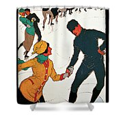 Winter In Davos Shower Curtain