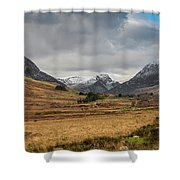 Winter In Snowdonia Shower Curtain