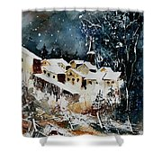 Winter In Vivy  Shower Curtain