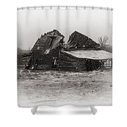 Winter In Wyoming 1 Shower Curtain