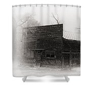 Winter In Wyoming 2 Shower Curtain