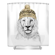 Winter Is Coming Shower Curtain by Balazs Solti