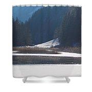 Winter Lake 1 Shower Curtain