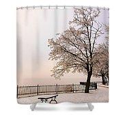 Winter Landscape 1 Shower Curtain