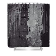 Winter Memories-ice Shower Curtain