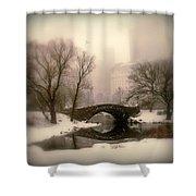 Winter Nostalgia Shower Curtain