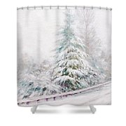 Winter Of  04 Shower Curtain
