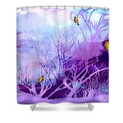 Winter Of Our Discontent Shower Curtain