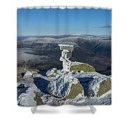Winter On Lafayette Shower Curtain