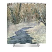 Winter On Stormcreek Shower Curtain