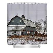 Winter On The Farm 2 Shower Curtain
