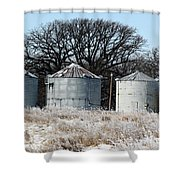 Winter On The Prairie Number 1 Shower Curtain
