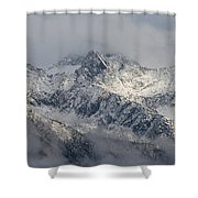 Winter On The Way Shower Curtain
