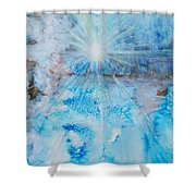 Winter Scene Shower Curtain by Tara Thelen