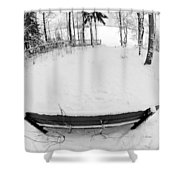 Winter Seat 1 Shower Curtain
