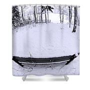 Winter Seat 2 Shower Curtain
