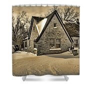 Winter Snow II Shower Curtain