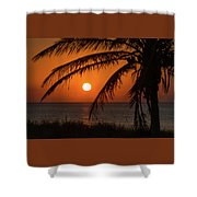 Winter Solstice Sunrise 2 Delray Beach, Florida Shower Curtain