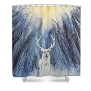 Winter Solstice - Yule Shower Curtain