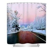 Winter St Shower Curtain