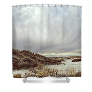 Winter Storm Clouds 2018-2289 Shower Curtain