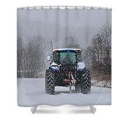 Winter Storm Jonas Shower Curtain
