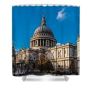 Winter Sun St Paul's Cathedral Shower Curtain